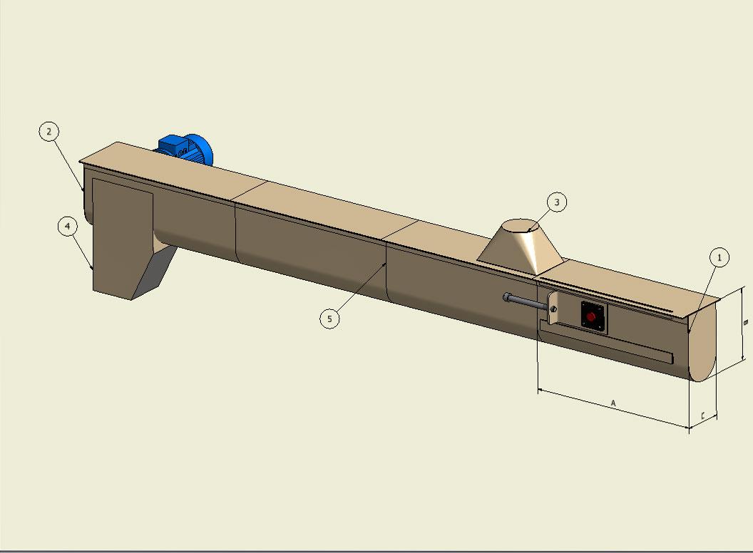 Paddles conveyors