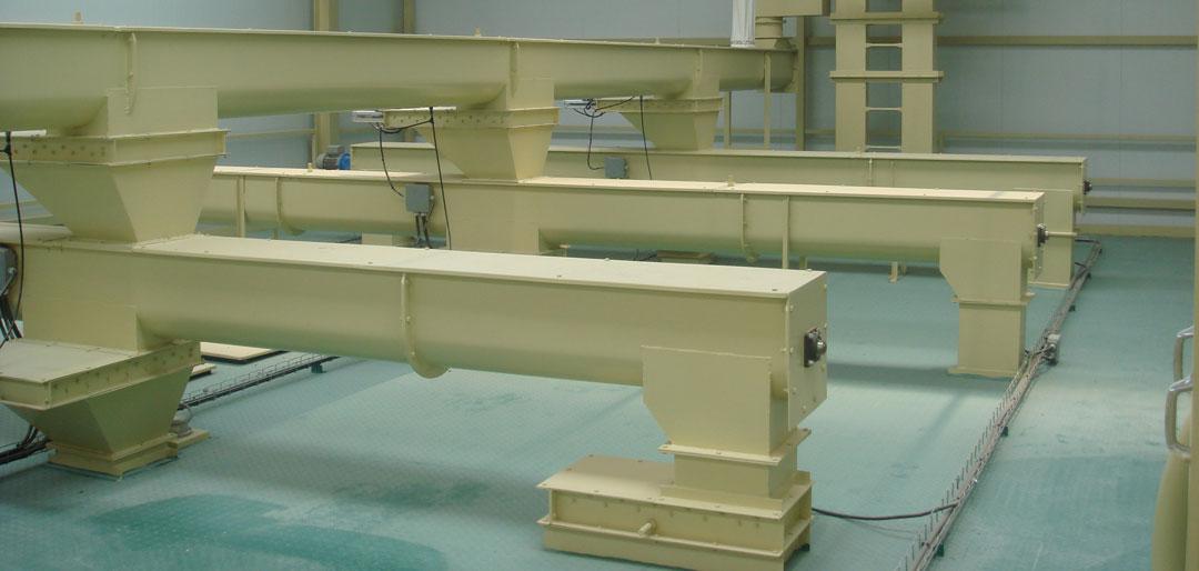 Helical conveyors