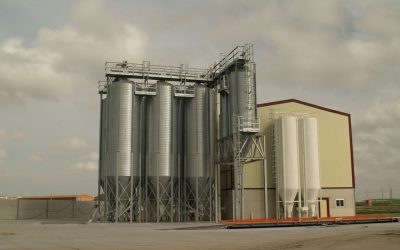Feed mill for laying-hens in Toledo, Spain