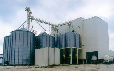 Feed mill in Portugal
