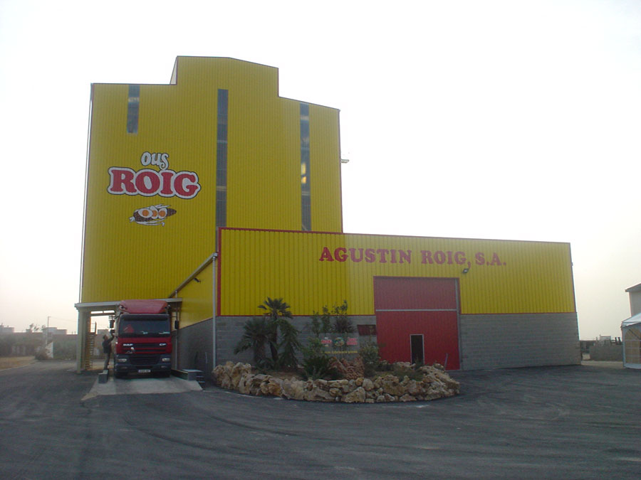 Poultry feed mill Ous Roig in Tarragona, Spain | Maquinaria