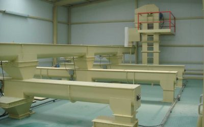 Helical conveyors