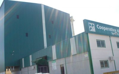 Pig feed mill in Badajoz, Spain
