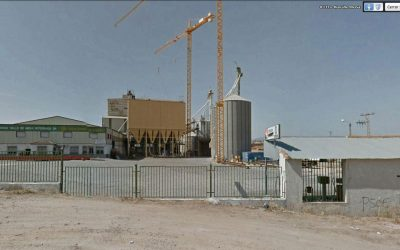 Compound feed mill in Toledo, Spain