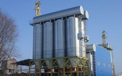 Feed mill in Moscow, Russia