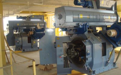 Pelleting equipment