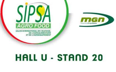 MGN will be showcasing at SIMA-SIPSA, Algeria from 4 to 7 October