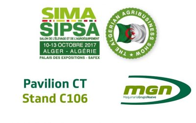 We'll be exhibiting our feed mills and premix factories at SIMA-SIPSA in Algeria