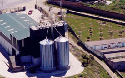 Feed mill in Cáceres, Spain