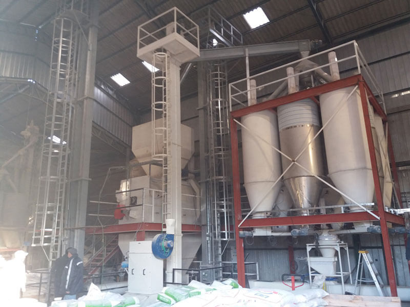 Poultry feed processing plant Talca Eggs Chile1