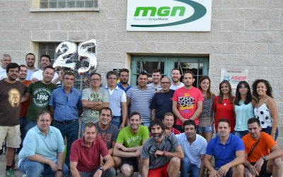 MGN celebrates 25th anniversary in the Feed Mill Machinery Sector