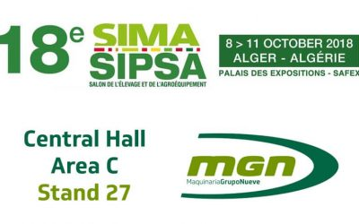 We'll be exhibiting our feed mills at the upcoming edition of SIMA-SIPSA in Algeria