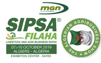 We'll be exhibiting our feed-milling equipment at the SIPSA-FILAHA show in Algeria